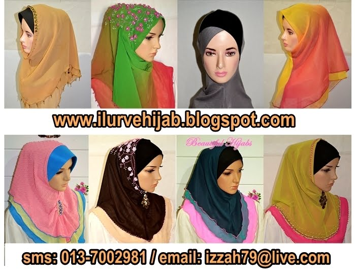 i lurve hijab - pemborong tudung terkini