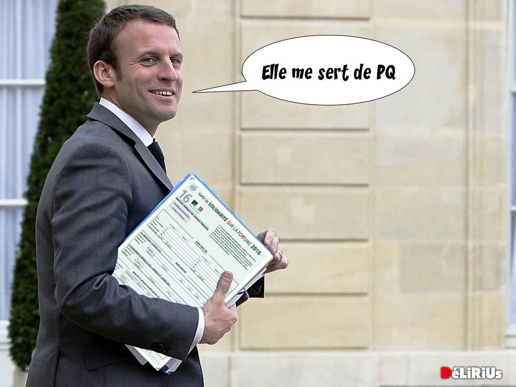 Après réévaluation de son patrimoine, Macron va devoir payer l'ISF
