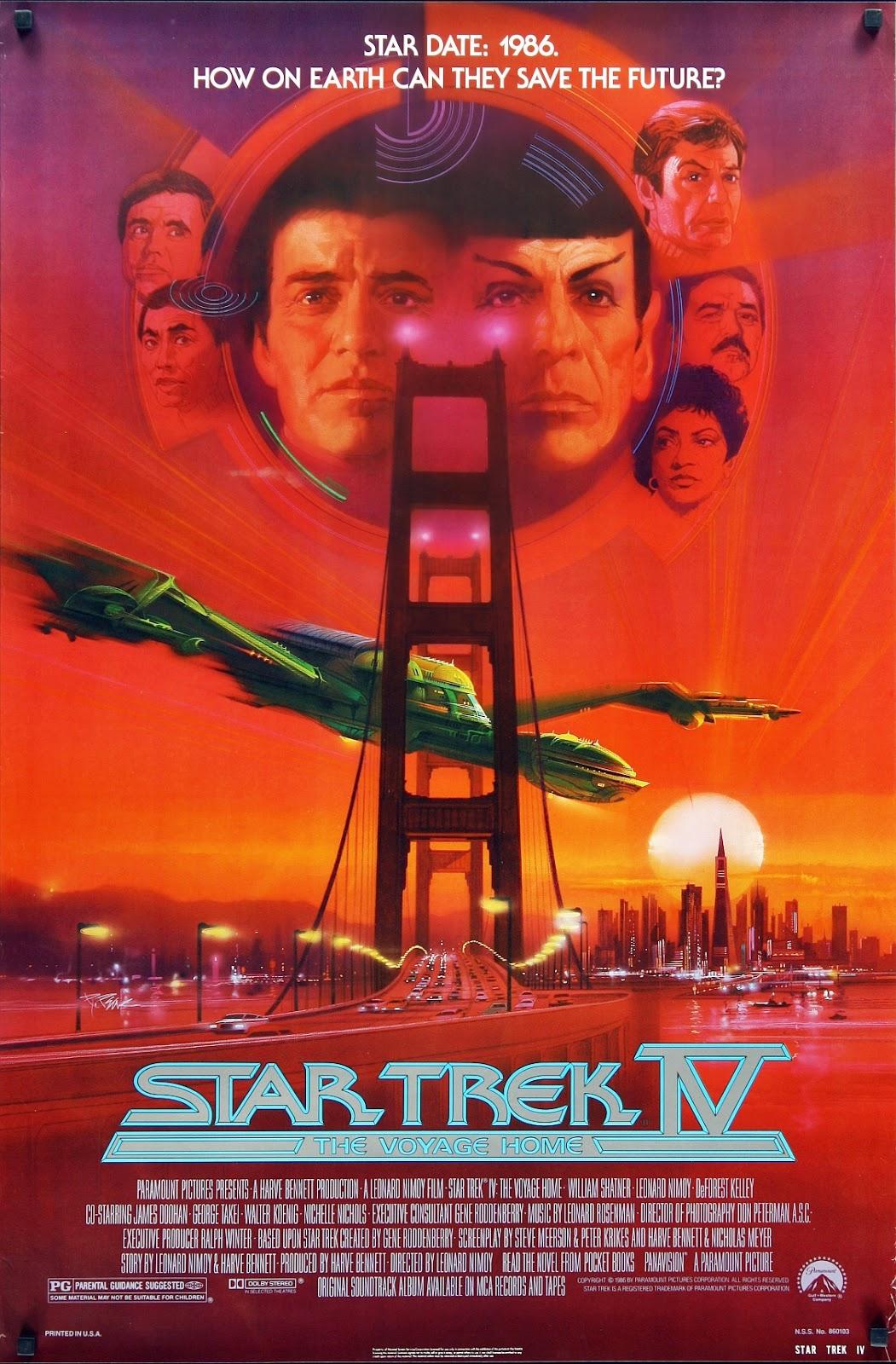 Star Trek IV: Misión salvar la tierra (Viaje a las estrellas 4)