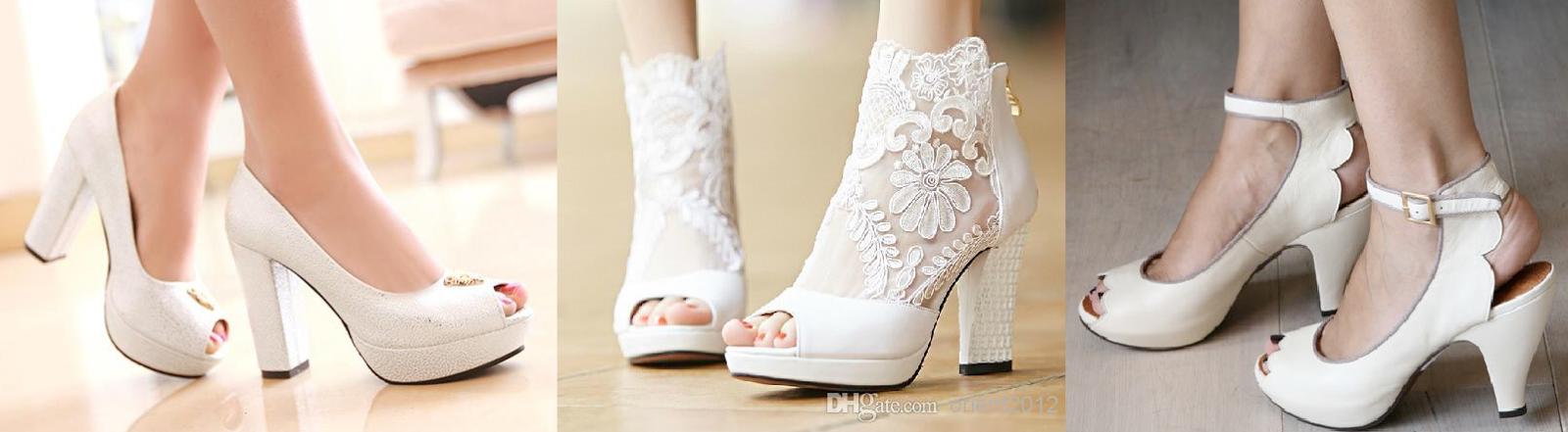 Scarpe Da Sposa Con Tacco 5