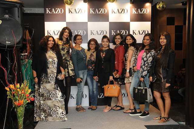 Kazo AW15 Collection preview | Bangalore Fashion Bloggers meet