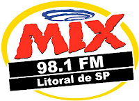Rádio Mix FM da Cidade de São Vicente - Litoral da Cidade de SP ao vivo