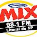 Ouvir a Rádio Mix FM 98,1 de São Vicente - Litoral de SP - Rádio Online