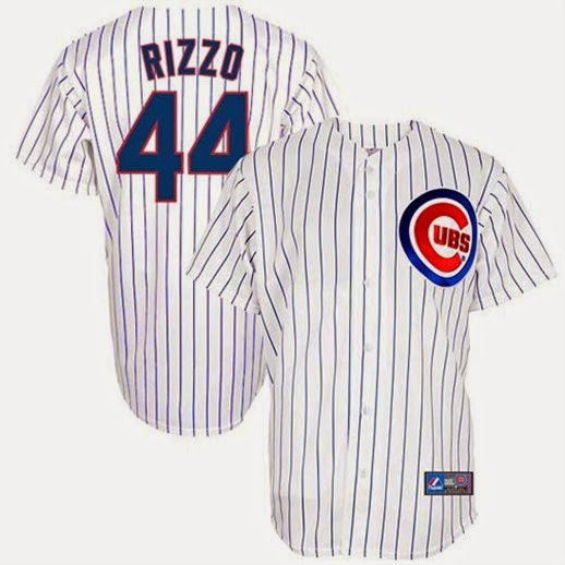 Anthony Rizzo Chicago Cubs Jersey, Anthony Rizzo big and tall jersey, Anthony Rizzo Cubs L XL 2X 3X and 4X Jersey