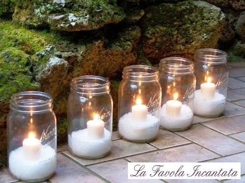 La favola incantata le ultime dal blog - Decorare candele per natale ...