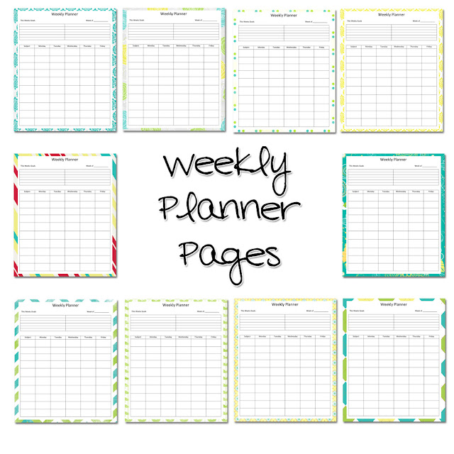 Massif image with printable teacher planner
