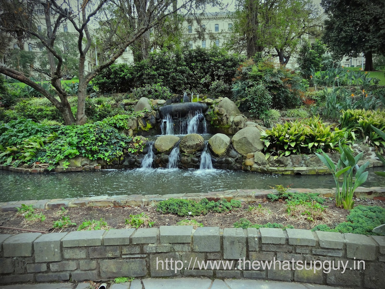 Fritzroy Gardens Mini Waterfall