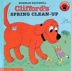 bookcover of Clifford's Spring Clean-Up  by Norman Bridwell