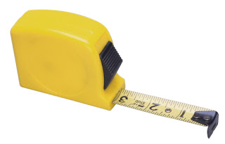 Creative Printing of Bay County Promo Items Tape Measure