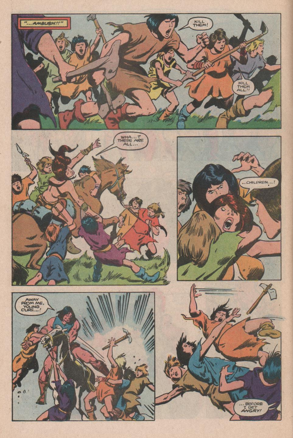 Conan the Barbarian (1970) Issue #174 #186 - English 5