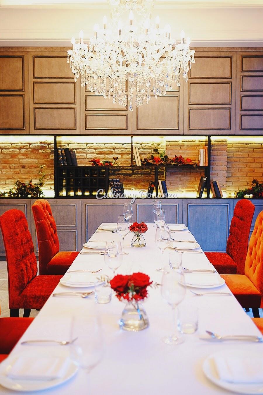 VIP Rooms at Ristorante da Valentino Jakarta