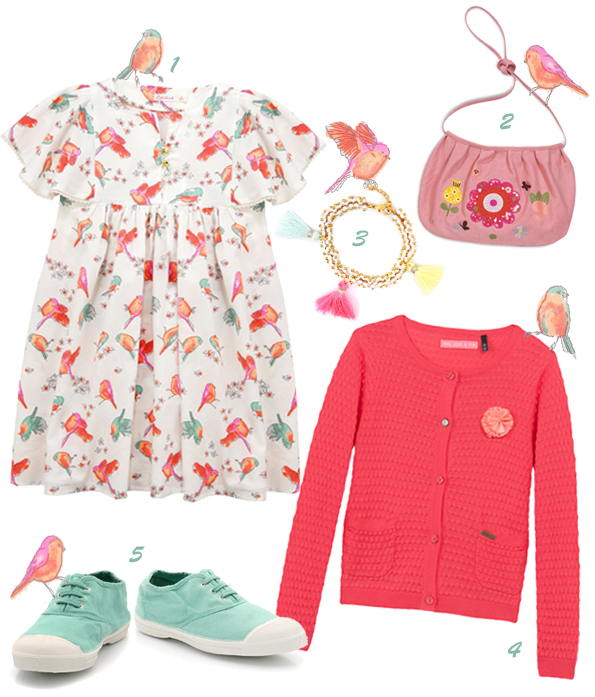 Le look Vivement le printemps !