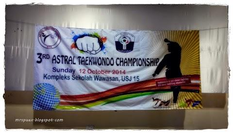 3rd Astral Teakwando Championship 2014
