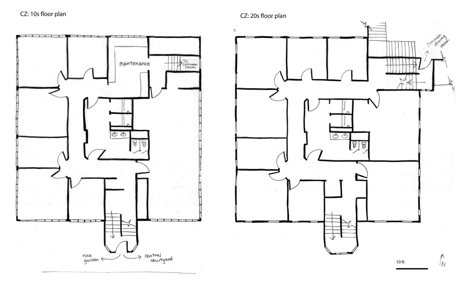 It 39 s a co op casa zimbabwe student co op house berkeley for 10 x 15 room layout