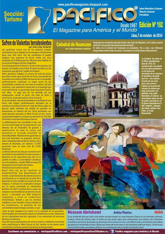 Revista Pacífico Nº 192 Turismo