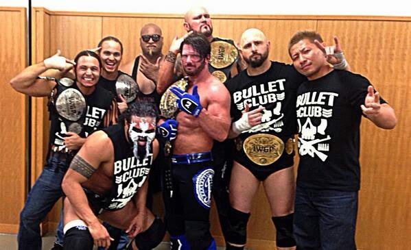 Bullet Club t-shirt 2014 NJPW Takahashi AJ Styles