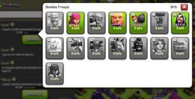 Donasi Clash of Clans