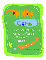 Common Core Grade 4 Activity Cards