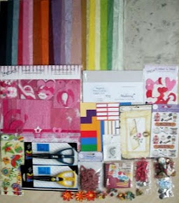 Sorteio de kit para scrapbook no blog: palomascrapbook.blogspot.com