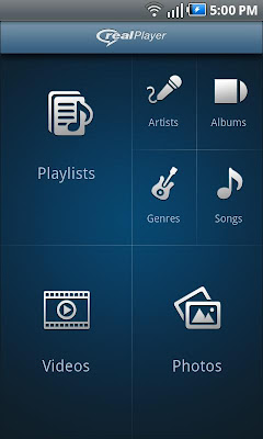 android RealPlayer Beta