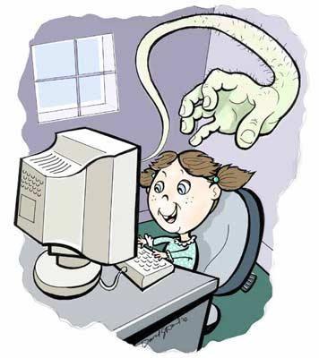 Lo malo de internet
