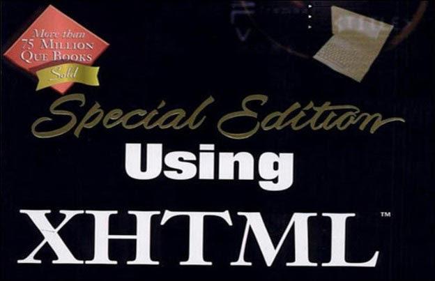 Using XHTML