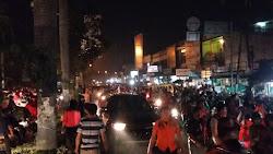 Jalan Jamin Ginting Ditutup Hingga Simpang Simalingkar