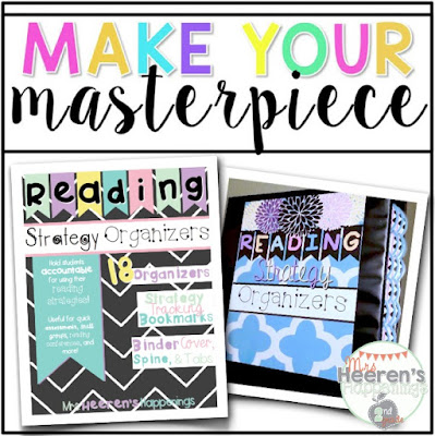https://www.teacherspayteachers.com/Product/Reading-Strategy-Organizers-Pack-1931265