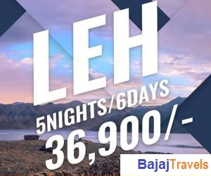Leh  Tour Package Starting @Rs 36,900 | 6 Days - 5 Nights