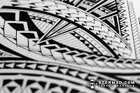 Samoan inspired tattoo designs artist
