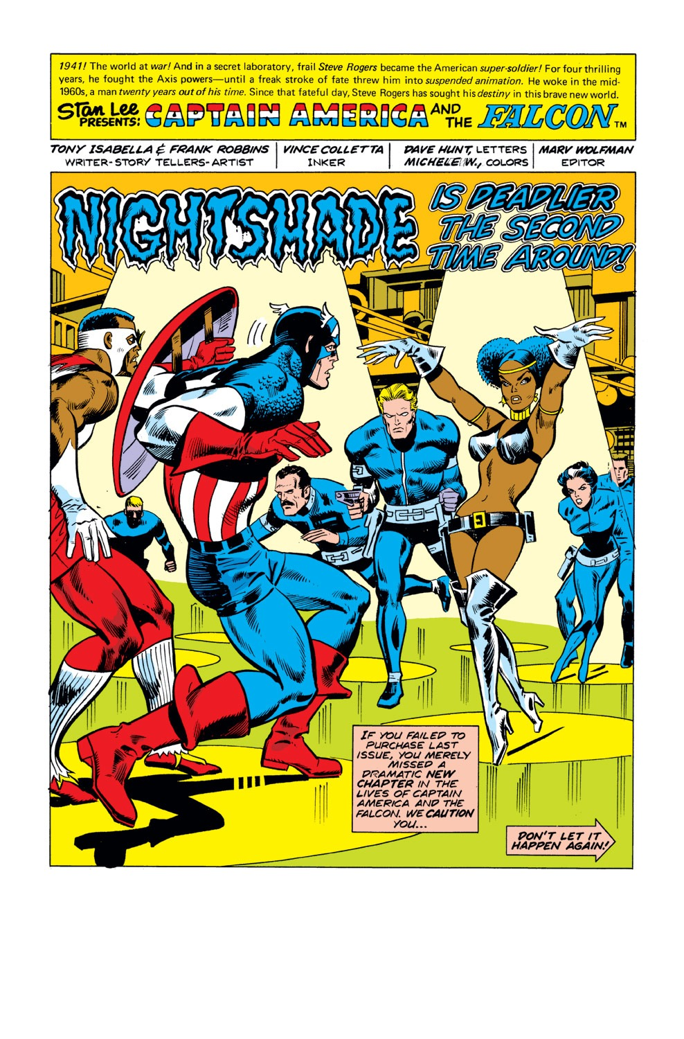 Captain America (1968) Issue #190 #104 - English 2