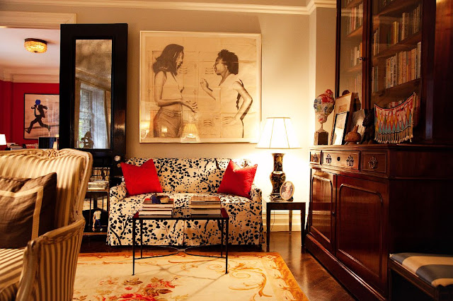 Mix And Chic Home Tour Andy And Kate Spades Stylish New