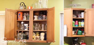 nesting, pregnancy, pinterest, home improvement, spring cleaning, organization, photoblog, Virginia photographer, breakfast station, kitchen cabinets