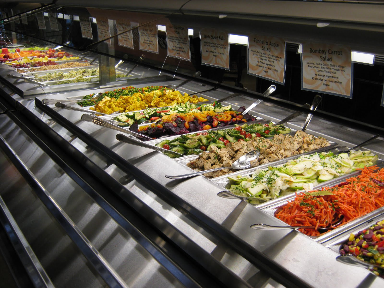 Step by step in the kitchen vacation time eating out for Food bar wegmans