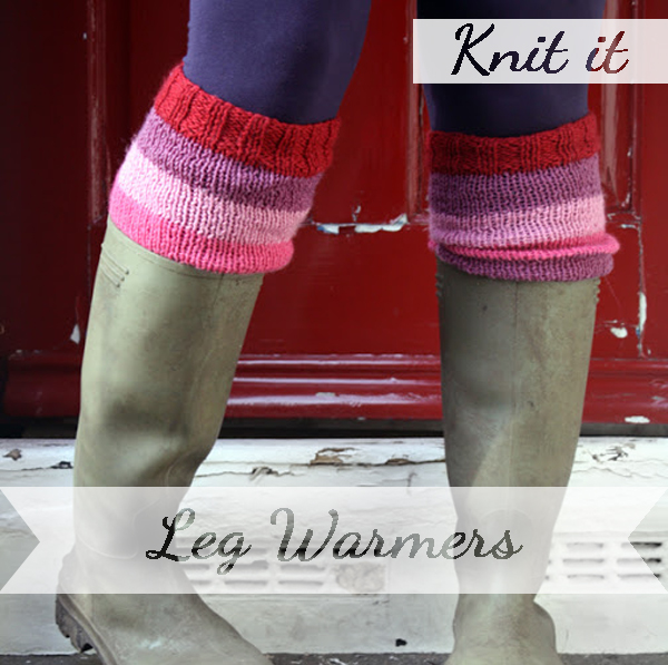 Knit yourself some leg warmers