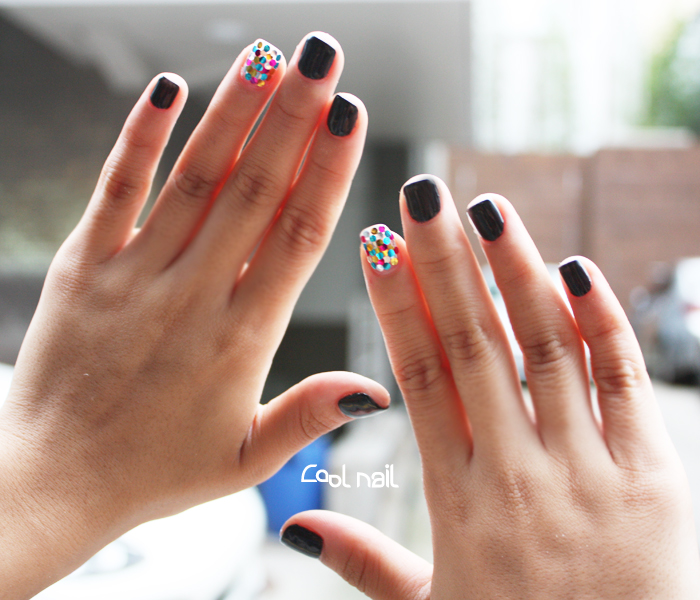 Spangle Gel Nail How To Do Summer Recommend Bling Art Cool