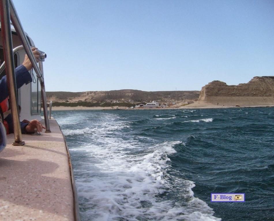 Puerto Madryn - Puerto Pirámides - Embarcado hacia el avistaje de ballenas