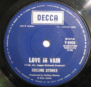 love in vain, the rolling stones, blues music