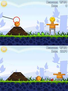 Angry Birds 1-3 Poached Eggs Walkthrough