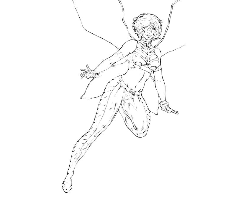 printable-x-men-wasp-character_coloring-pages