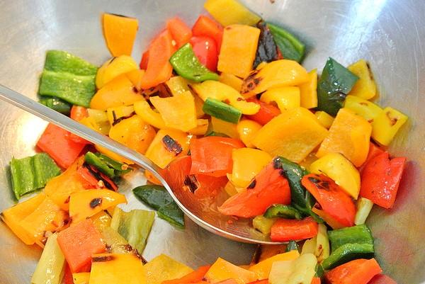 peperoni in padella ricetta leggera
