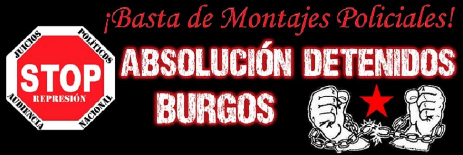 ABSOLUCIÓN DETENIDOS BURGOS
