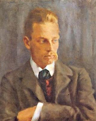 Retrat de Rainer Maria Rilke (Helmut Westhoff)