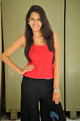 Swetha Jadhav glam pics in red top-thumbnail-14