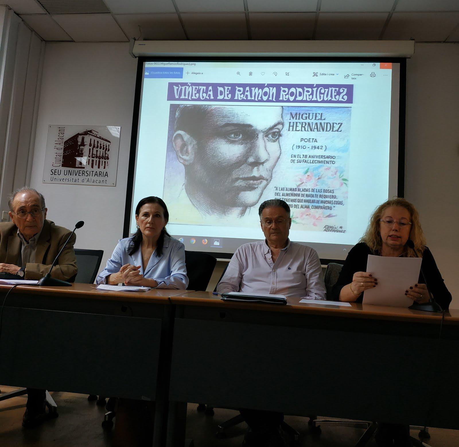 Homenaje a Miguel Hernández 78 aniversario muerte