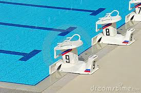 Sarge speaks out olympic swimming winning whales - Olympic swimming starting blocks ...