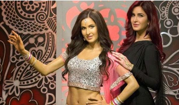 Indian Barbie Doll Katrina Kaif's wax statue unveiled in London