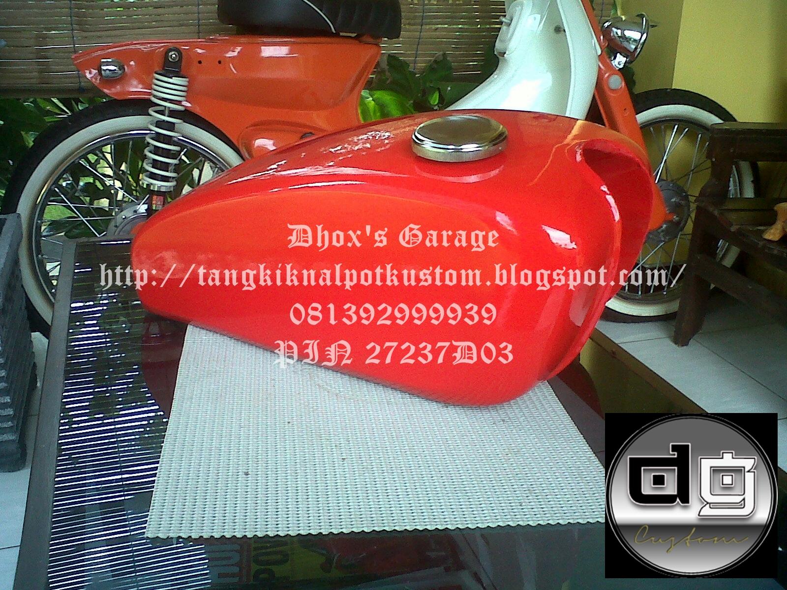 Tangki Kustom Japstyle Bratstyle Model Easy Rider 2 title=
