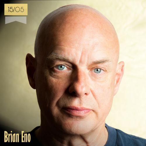 15 de mayo | Brian Eno - @dark_shark | Info + vídeos