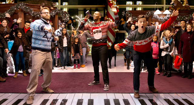 Seth Rogen Joseph Gordon-Levitt Anthony Mackie | The Night Before